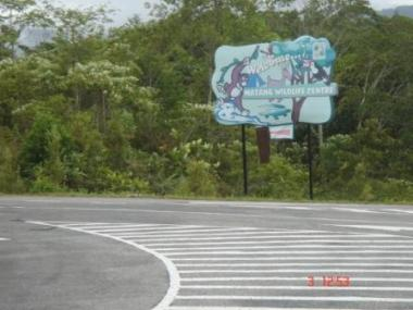 Matang Wildlife Center Sign